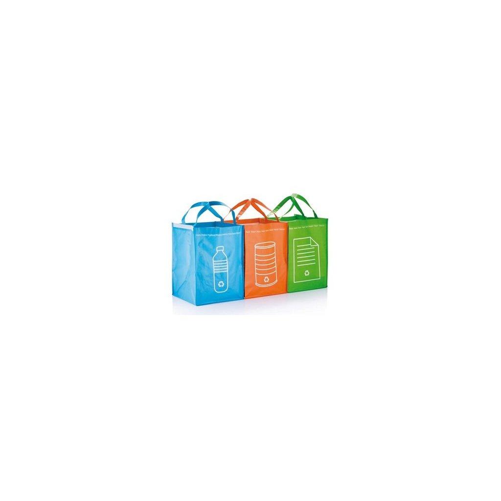 Tašky na triedený odpad - SET 3 ks