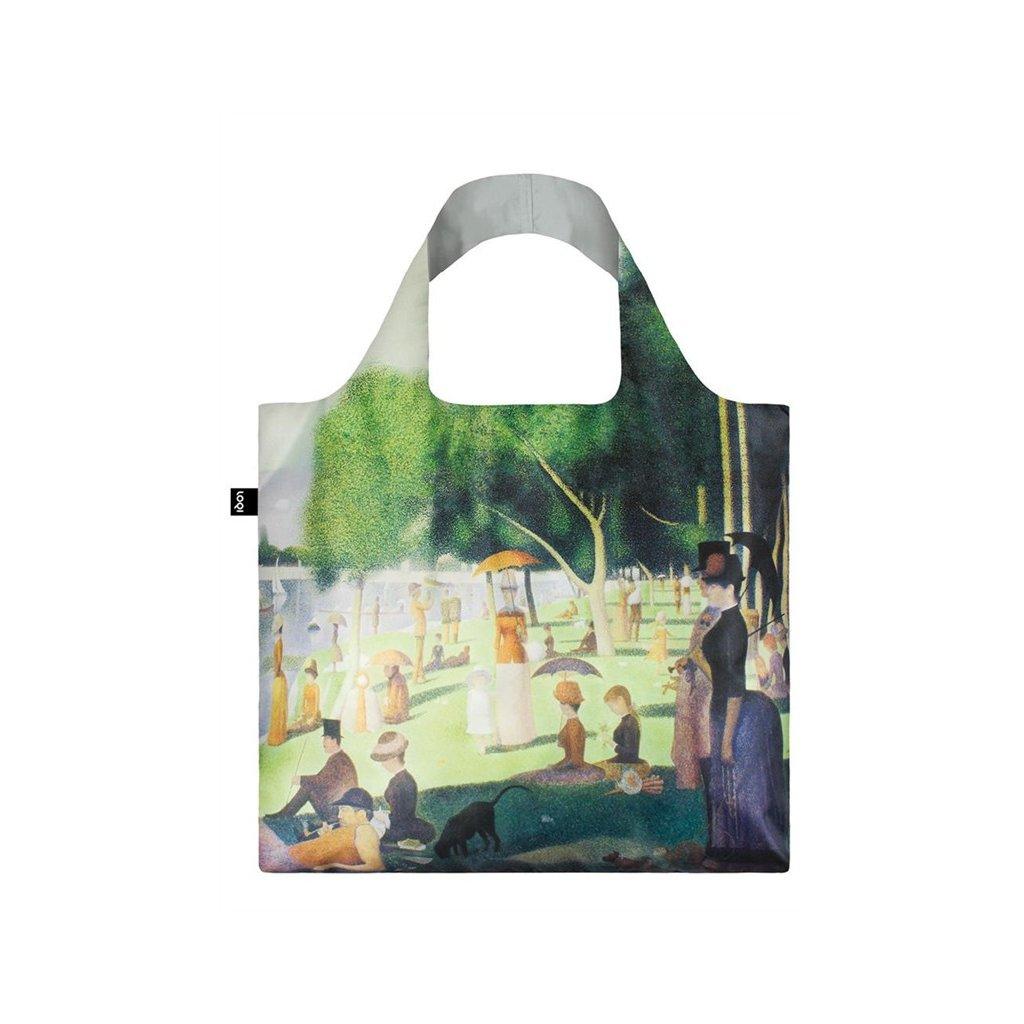 loqi museum seurat a sunday on the island bag