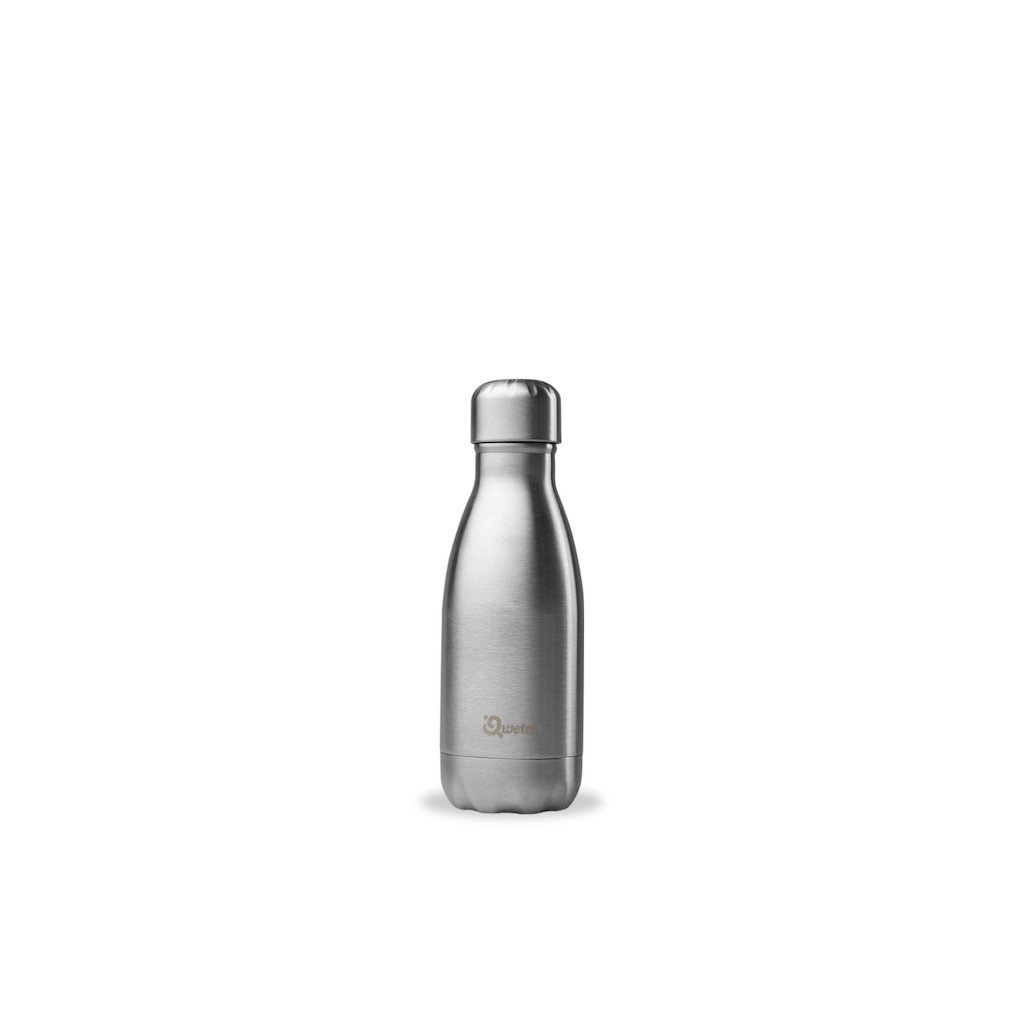 insulated stainless steel bottle brushed steel 260ml d79bb61e211