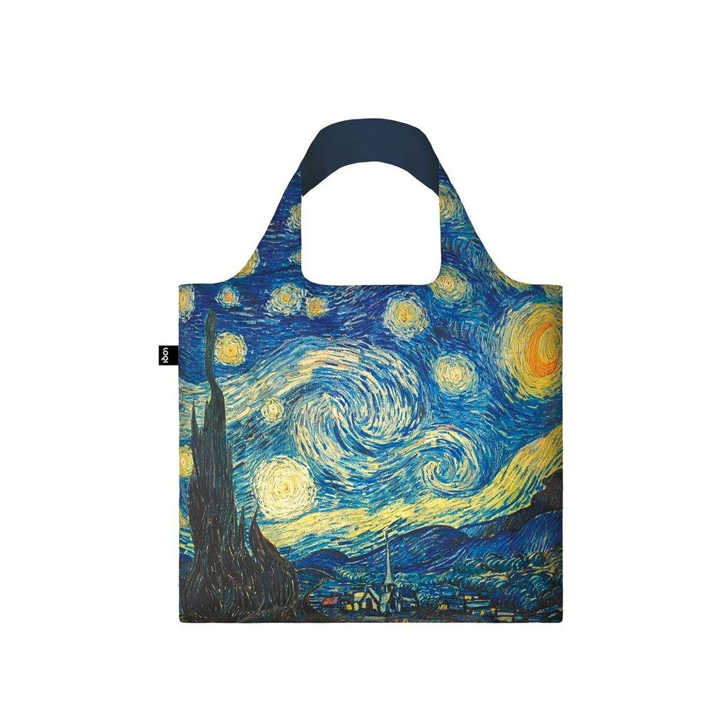 Nákupná taška LOQI Museum, Van Gogh - The Starry Night