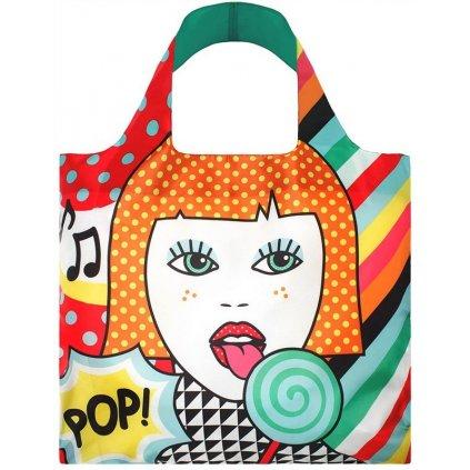 Nákupná taška LOQI Pop Lollipop