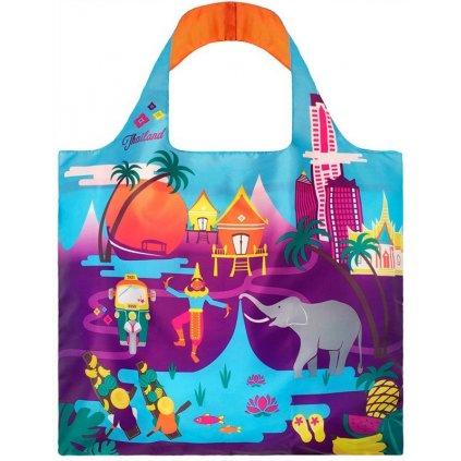 Nákupná taška LOQI Urban Thailand