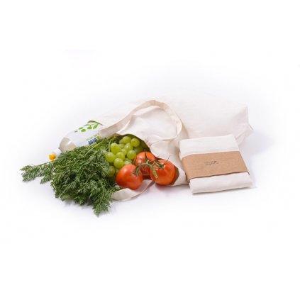 Plátená nákupná taška z biobavlny