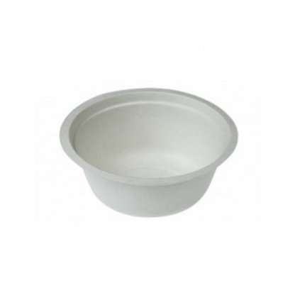 Kompostovateľný tanier hlboký 450 ml