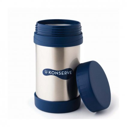 large insulated food jar navy 450ml (1)