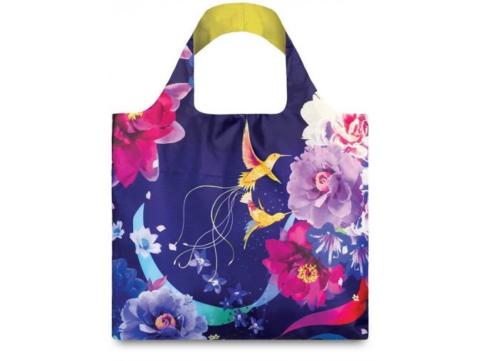 Nákupná taška LOQI Shinpei Naito Hummingbirds