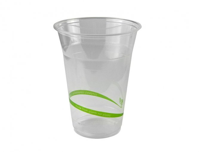 Kompostovateľný pohár 400-450ml, 50ks