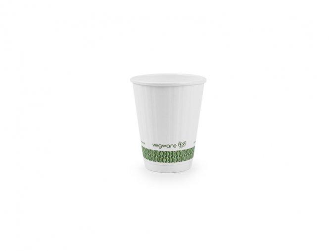 Pohár na teplé nápoje 220ml, biely