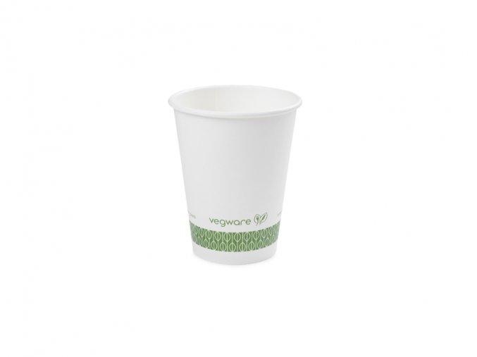 Pohár na teplé nápoje 355/340ml, biely, 50 ks