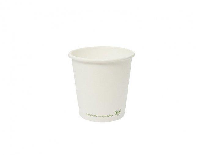 Pohár na teplé nápoje 120ml, biely, kartón 1000 ks