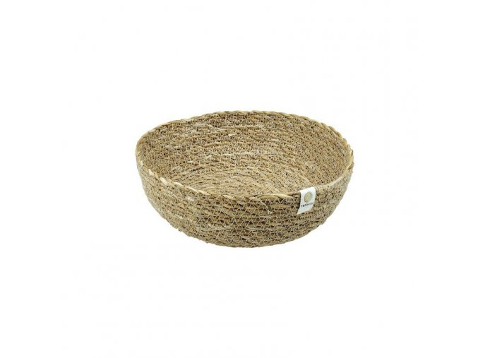 Miska z morskej trávy stredný, natural