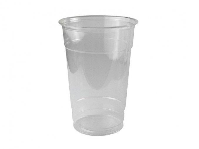 Kompostovateľný pohár 400-450ml, 50 ks