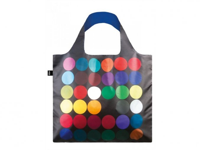 Nákupná taška LOQI Museum Gernes - Dots