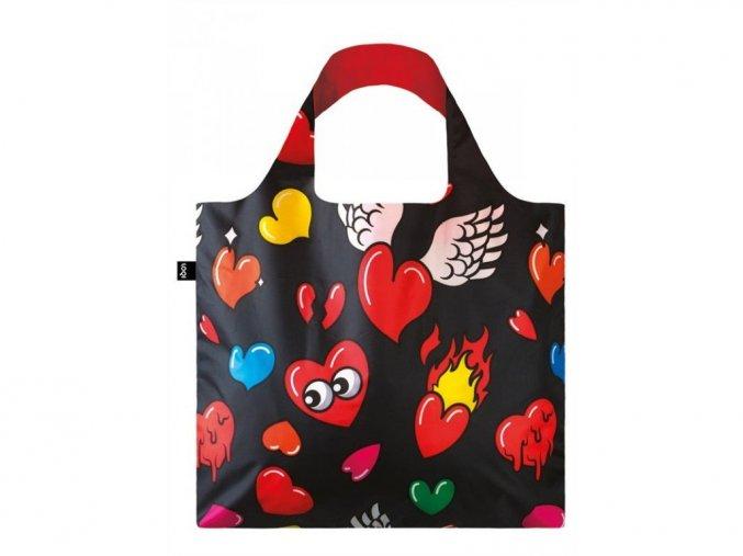 Nákupná taška LOQI Pop Hearts