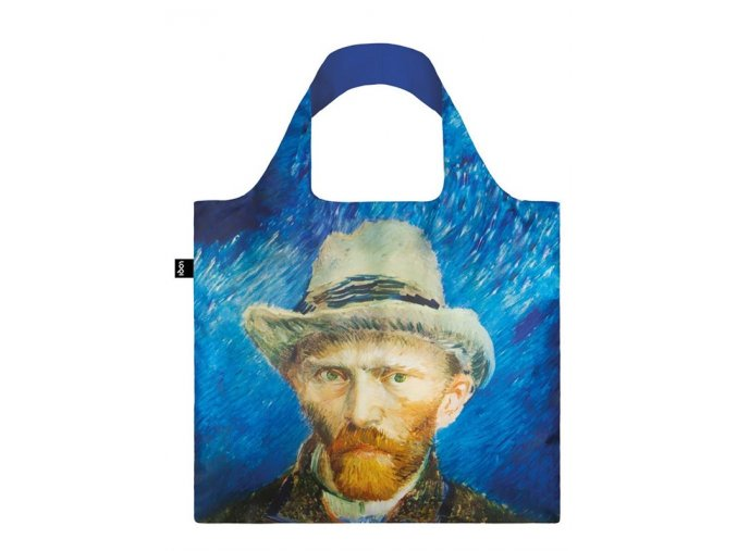 LOQI MUSEUM van gogh self portrait bag