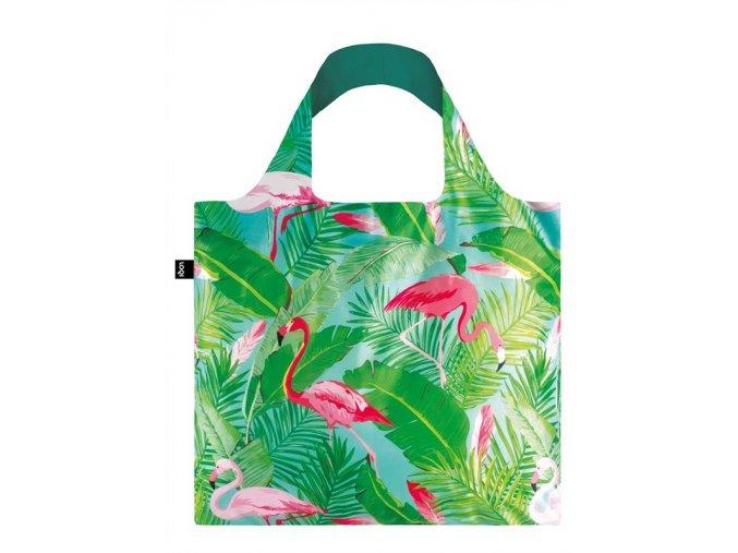 loqi wild flamingos bag
