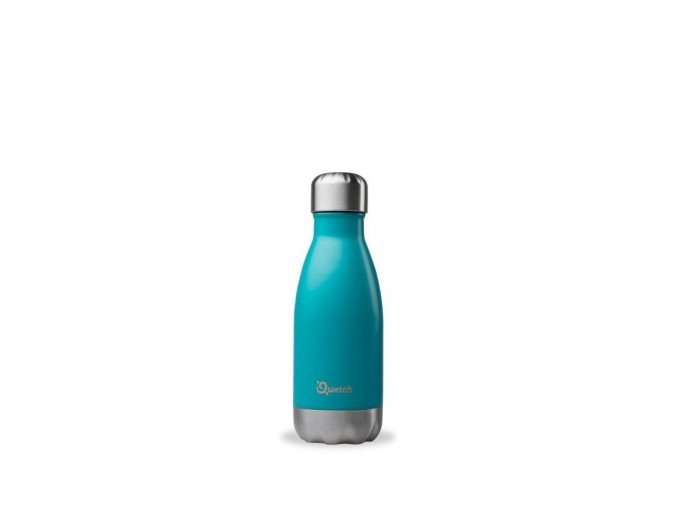 insulated stainless steel bottle turquoise 260ml