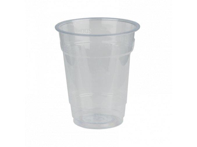 Kompostovateľný pohár PLA 200 ml - bal. 90 ks (9852)