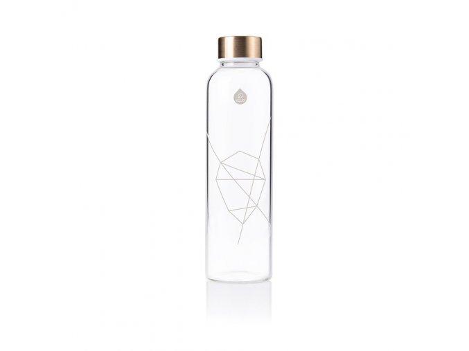 Fľaša EQUA MISMATCH white print, 550 ml
