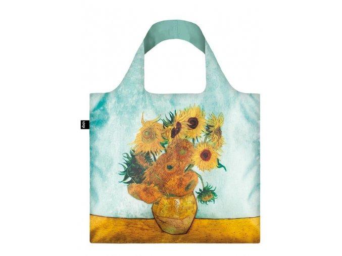 Nákupná taška LOQI Museum, Van Gogh - Vase with Sunflowers