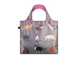 Nákupná taška LOQI Cats & Dogs - Meow