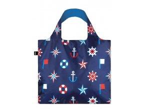 Nákupná taška LOQI Nautical Classic