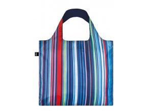 Nákupná taška LOQI Nautical Stripes