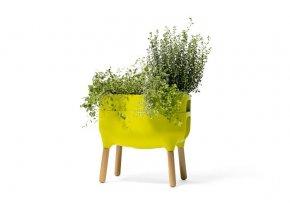 Urbalive nízka nádoba na pestovanie - zelená  + darček od nás k vášmu nákupu