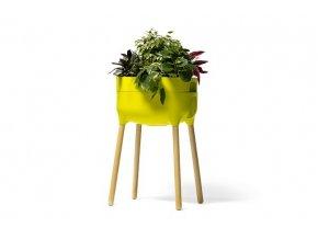 UrbAlive vysoká nádoba na pestovanie - zelená