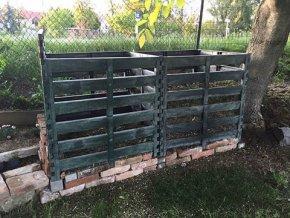 Otvorený kompostér premium 2260L