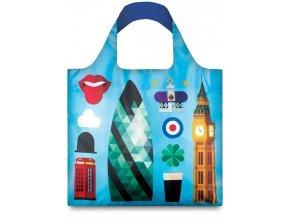 Nákupná taška LOQI Hey London