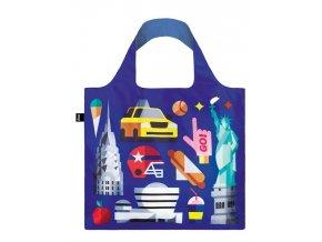 Nákupná taška LOQI Hey New York