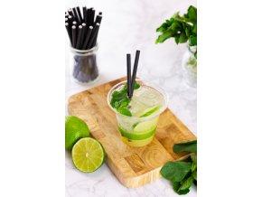 Kompostovateľný pohár smoothie 200 ml, 50 ks