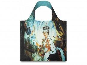 Nákupná taška LOQI Cecil Beaton Queen Elizabeth II 1954