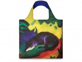Nákupná taška LOQI Museum - Blue Fox