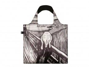 Nákupná taška LOQI Museum - The Scream