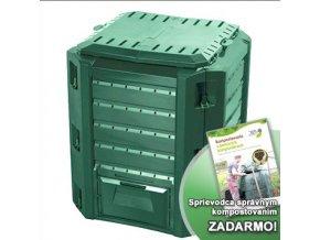 Kompostér  JRK HOBBY 380  + Sprievodca kompostovaním zdarma