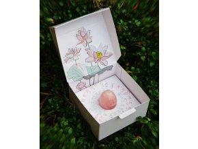 Vajíčko YONI pre ženy - ruženín  + darček od nás k vášmu nákupu