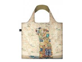 Nákupná taška LOQI Museum, Klimt - The Fulfilment