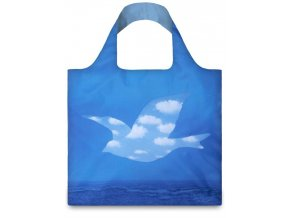 Nákupná taška LOQI Museum, Magritte - The Promise  + darček od nás k vášmu nákupu